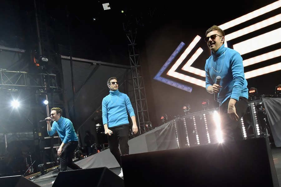 The Lonely Island - COURTESY OF CLUSTERFEST BY FILMMAGIC.COM