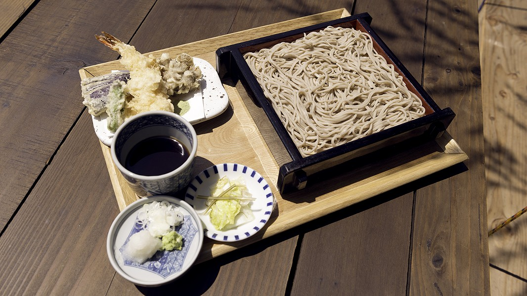 Soba Ichi is one of few restaurants in the country to make soba noodles completely from scratch. - PHOTO BY LANCE YAMAMOTO