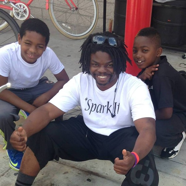 "Najari ""Naj"" Smith was leading a group of about 40 young riders when he was arrested by Oakland police."