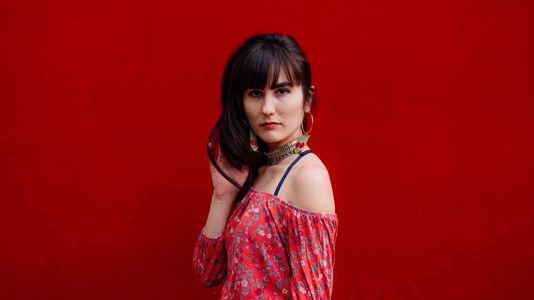 Aya Safiya was raised on traditional Greek music. - PHOTO COURTESY OF AYA SAFIYA