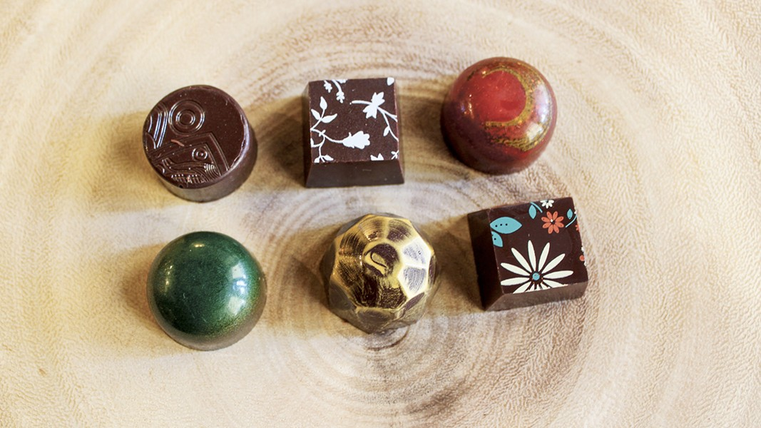 The caramel box offers global flavors. - PHOTO COURTESY OF CASA DE CHOCOLATES