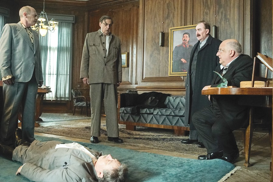 The Death of Stalin is one of the smartest, funniest movies of the year.