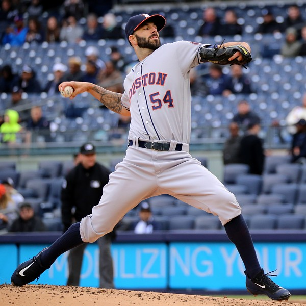 Mike Fiers as a member of the Astros. - ARTURO PARDAVILA-CREATIVE COMMONS