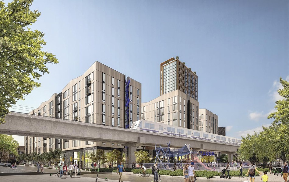 Oakland's Planning Commission approved new housing. - RENDERING COURTESY OF PANORAMIC INTERESTS