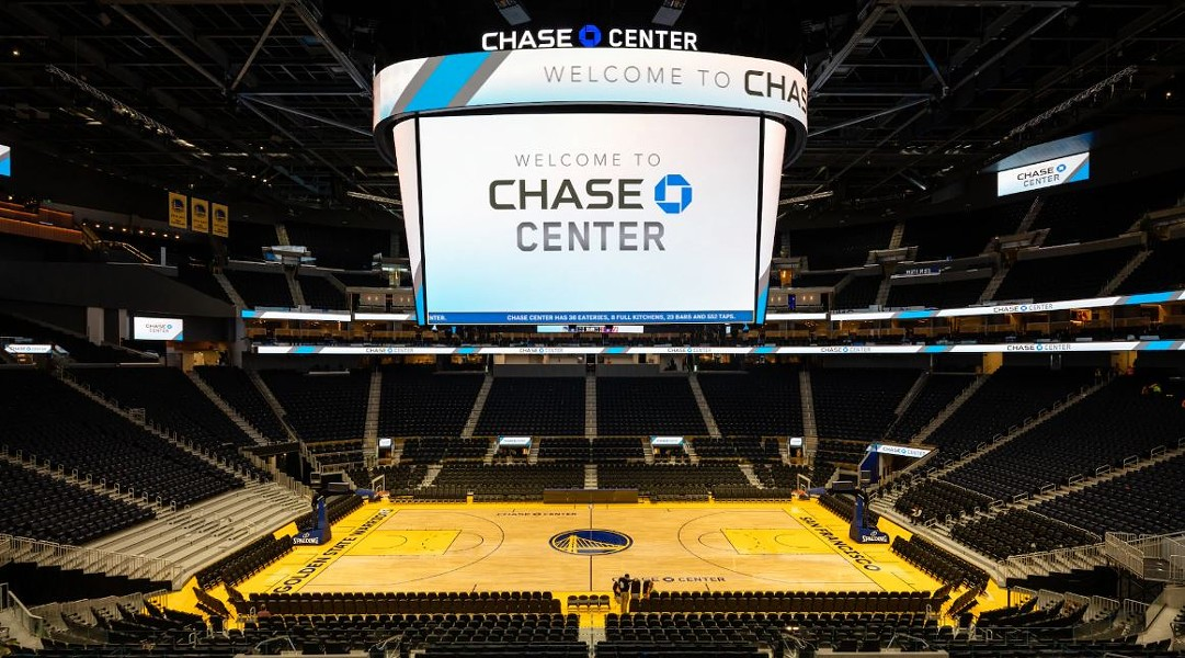 The Warriors, formerly of Oakland, open the new Chase Center tonight in San Francisco. - NBA
