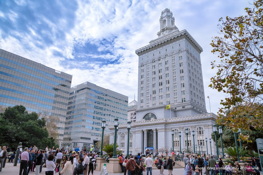 Oakland's lack of funding for future pension and retirement costs was rated by the state auditor as the highest risk of any city in California. - VISIT OAKLAND