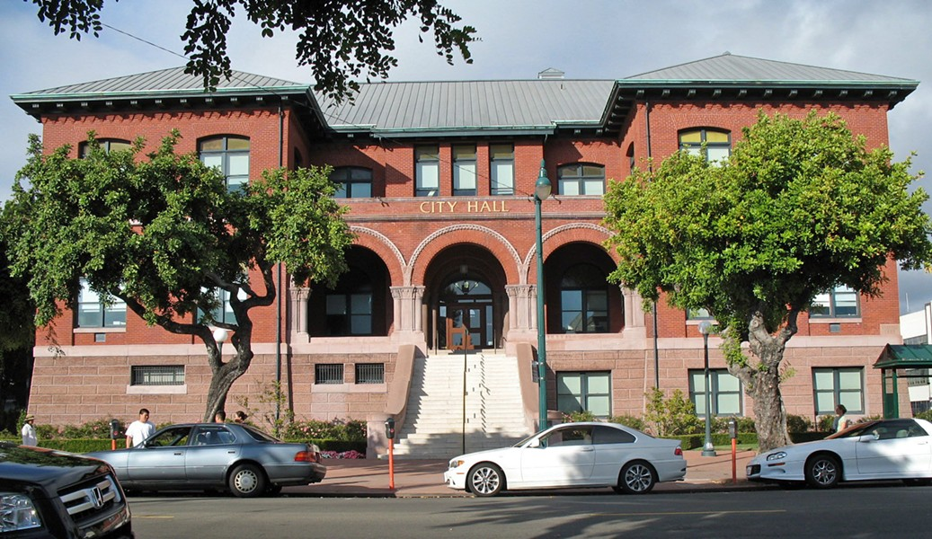 Alameda's secret audio recording, however, revealed sharp divisions between the city administration and Alameda's powerful firefighters union. - FILE PHOTO