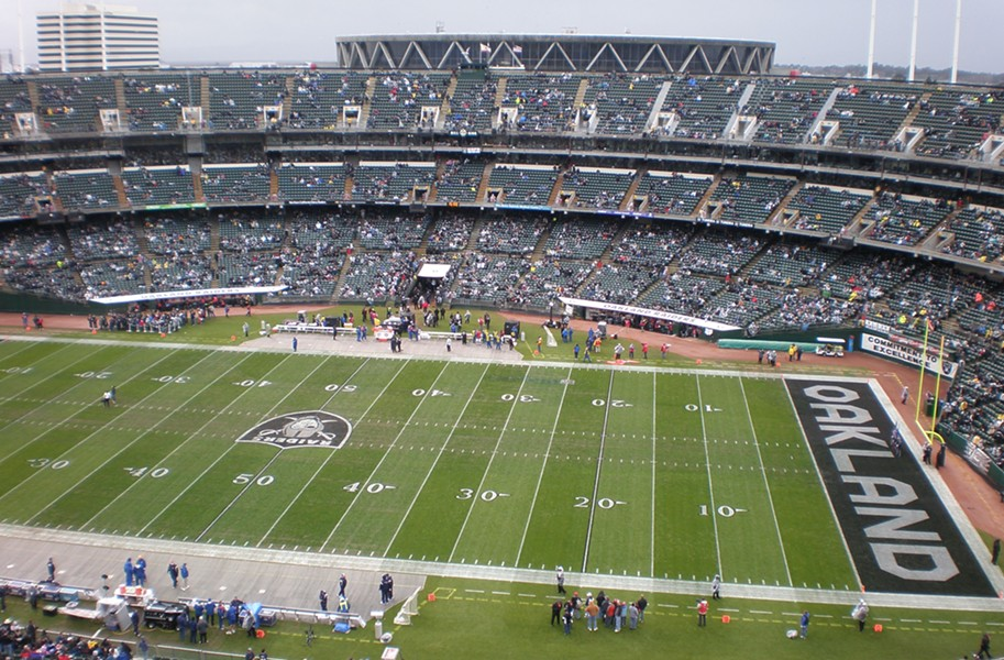 Alameda County Board of Supervisors may get out of the stadium business at a special meeting today. - WIKIMEDIA COMMONS