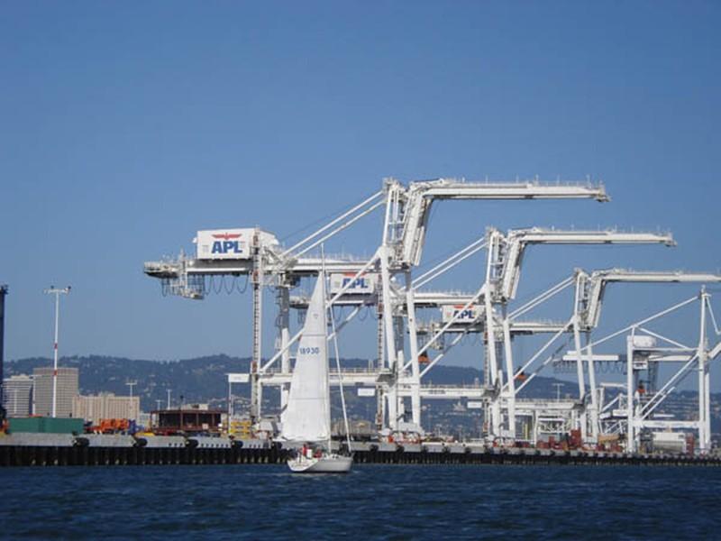 Port of Oakland. - FILE PHOTO