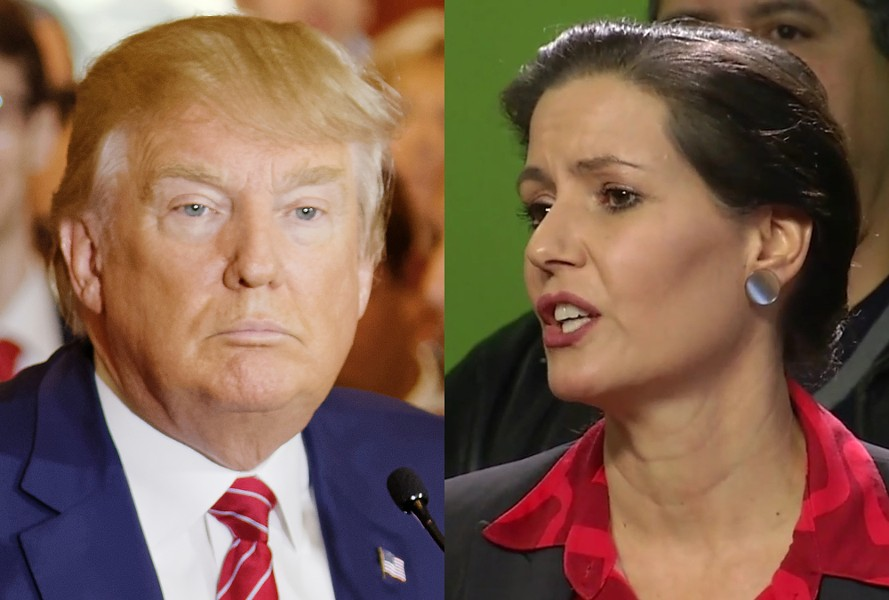 President Trump and Oakland Mayor Libby Schaaf again engaged in a war of words. - FILE PHOTO
