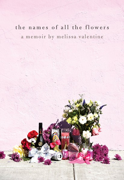 DEAD LEAVES: Author Melissa Valentine focused much of her memoir, 'The Names of All the Flowers,' on the killing of her brother, Junior.