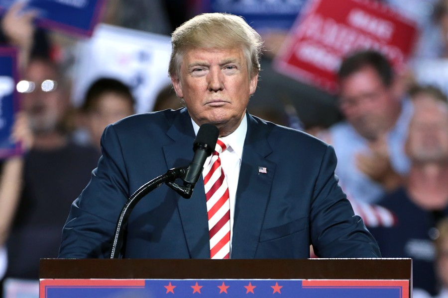 President Trump has targeted sanctuary cities like Oakland several times in recent years. - WIKIMEDIA COMMONS