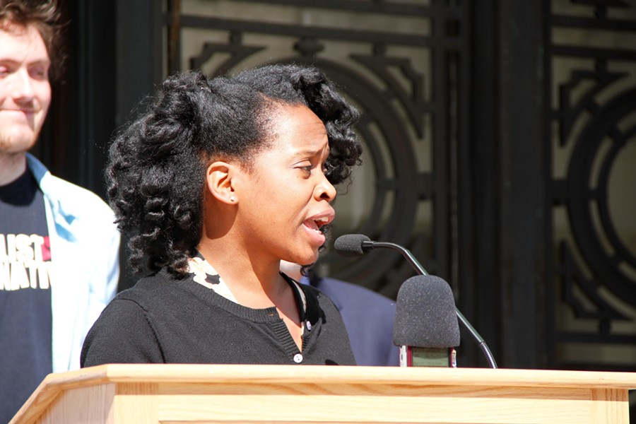 Carroll Fife is the second pro-housing activist to unseat an Oakland City Council incumbent in successive election cycles. District 2 Councilmember Nikki Bas defeated Abel Guillen two years ago. - FILE PHOTO