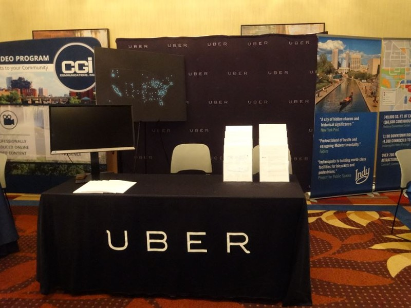 Uber Technologies, the controversial transportation networking company, lobbied the US Conference of Mayors this weekend. - DARWIN BONDGRAHAM