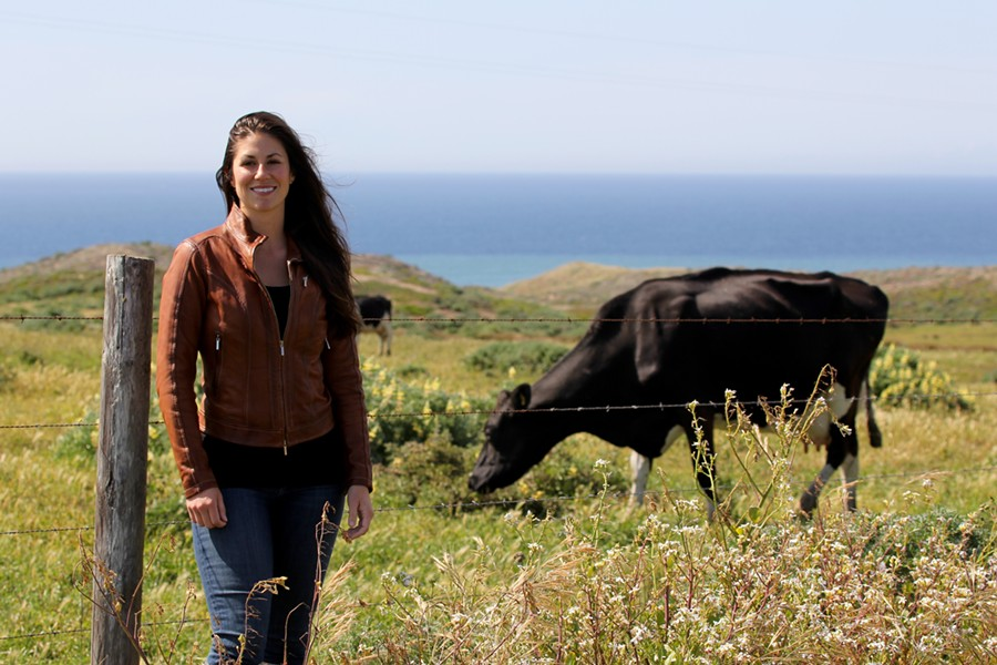 Mindful Meats founder Claire Herminjard. - KATRINA LOPEZ