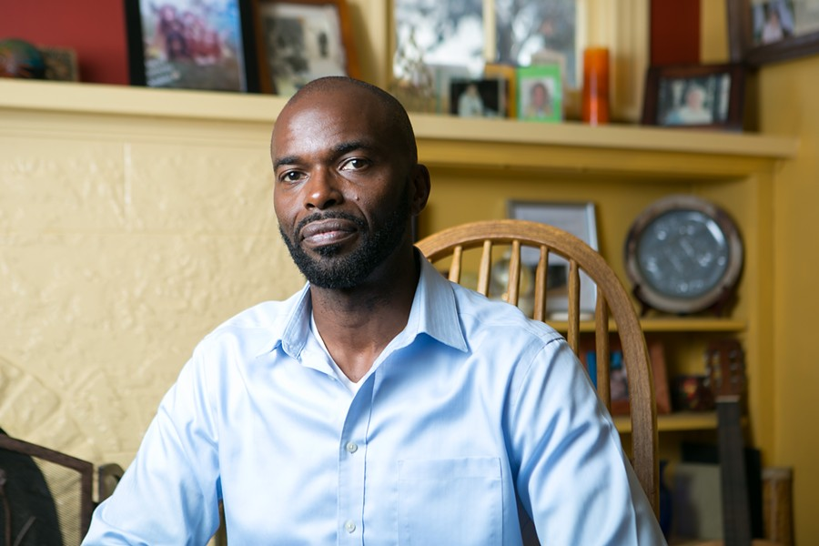 Oakland native Leland Thompson became so frustrated with Glenview residents profiling him and fearing he might be a criminal suspect that he stopped jogging in his own neighborhood. - BERT JOHNSON