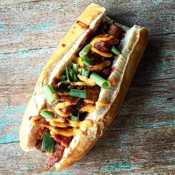 A Bombzie's sandwich.