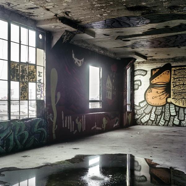 """Ink Factory"" by Nick Lawrence. - BERKELEY ART CENTER"