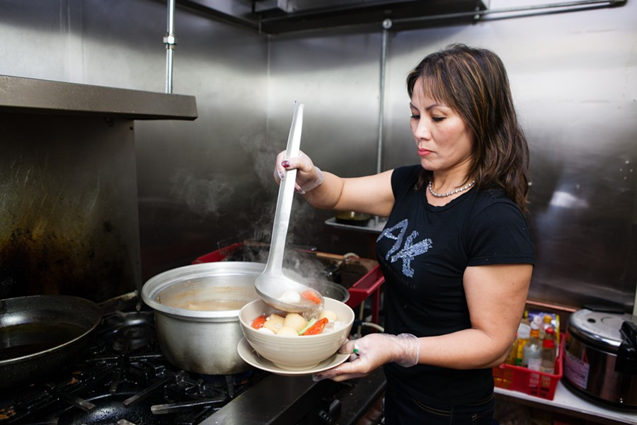 Kim Thuy Do is the heart and soul of the restaurant. - BERT JOHNSON