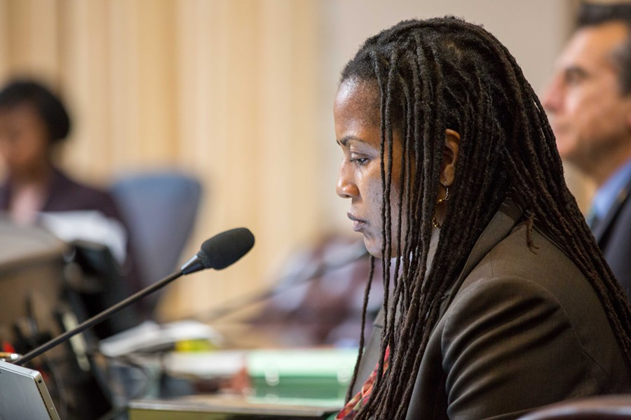 Oakland Councilmember Lynette Gibson McElhaney will likely face at least one challenger next year.. - BERT JOHNSON/FILE PHOTO