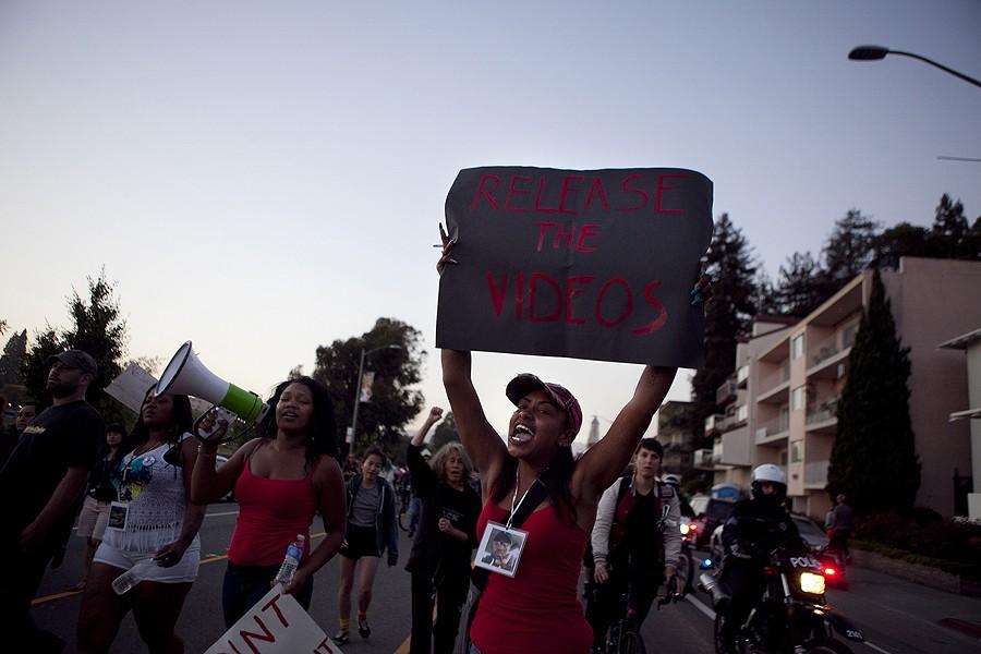 Black Lives Matter activist are demanding more accountability from law enforcement. - ERIN BALDASSARI