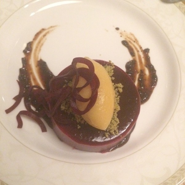 "The ""Nicoise"" dessert at Antoinette. - LUKE TSAI"
