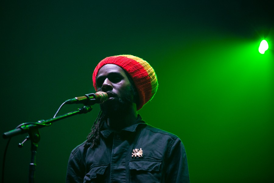Chronixx delivered a charismatic reggae set. - BERT JOHNSON
