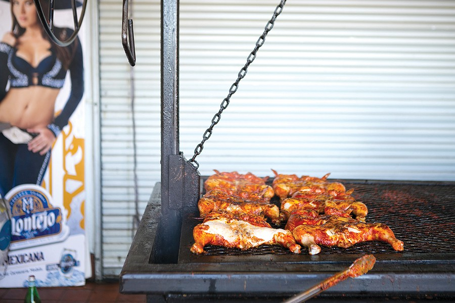 Best Grilled Chicken, in Taco Form: La Selva Taqueria. - PHOTO BY BERT JOHNSON/FILE