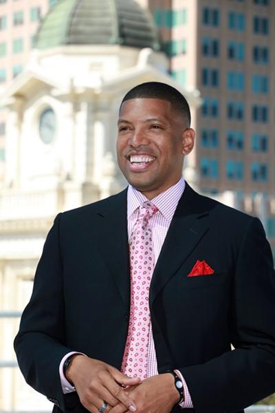 Mayor Kevin Johnson of Sacramento.