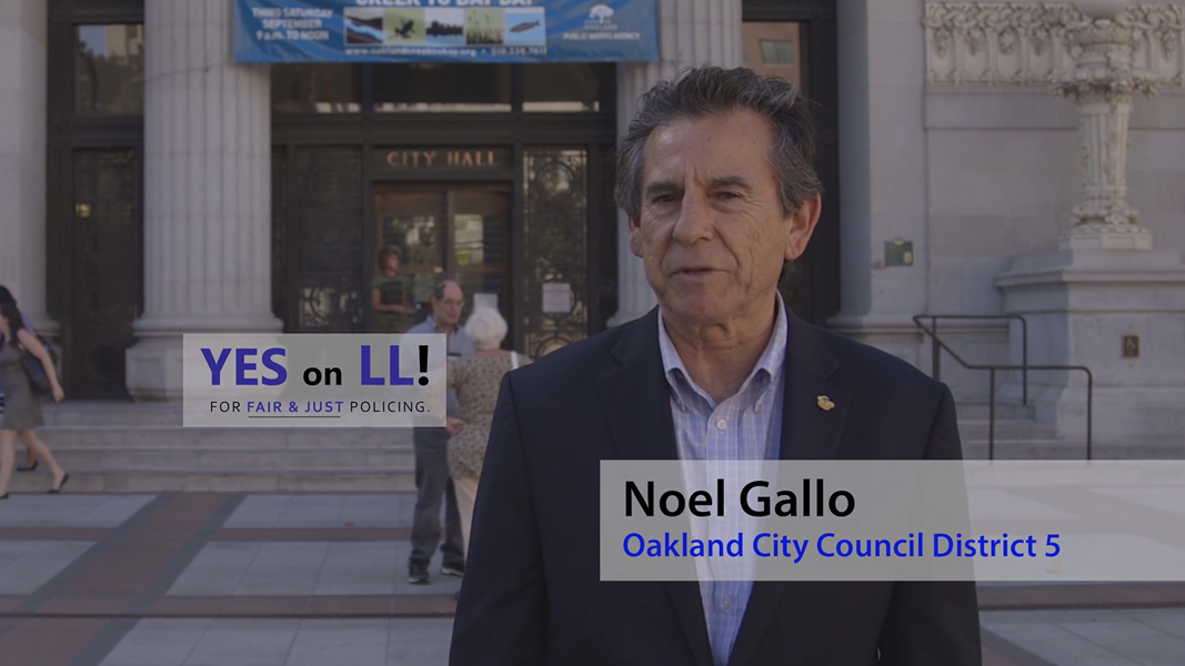 Noel Gallo is actively campaigning for Measure LL.