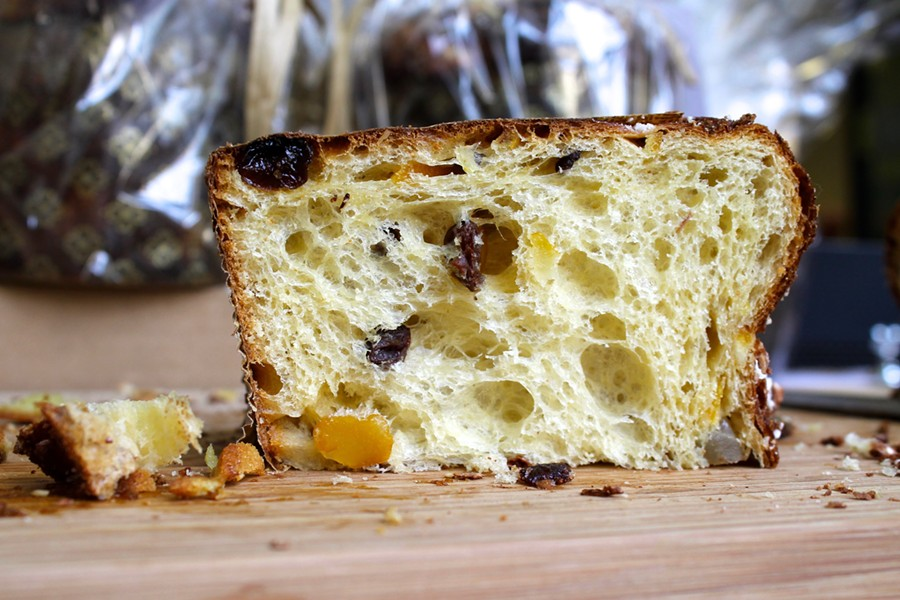 The panettone at Sam's Patisserie. - SAM BUTARBUTAR