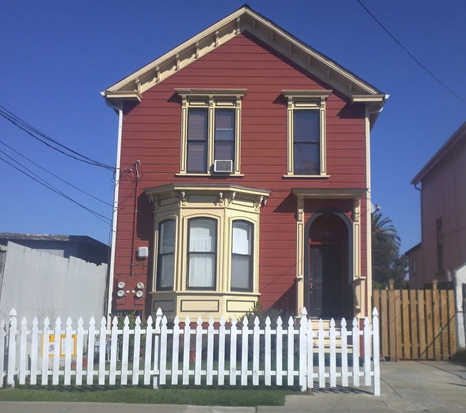 This West Oakland vintage home housed the only Black whaling captain in Pacific coast history. - COURTESY POPNA