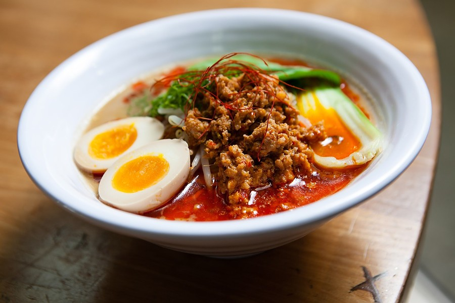 Shiba's take on tantanmen-style ramen. - BERT JOHNSON/FILE PHOTO