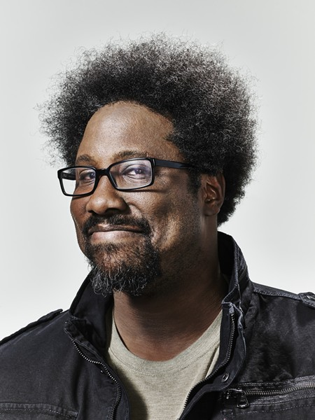 W. Kamau Bell reads from his new book in Oakland this Saturday, May 6. - PHOTO BY JOHN NOWAK