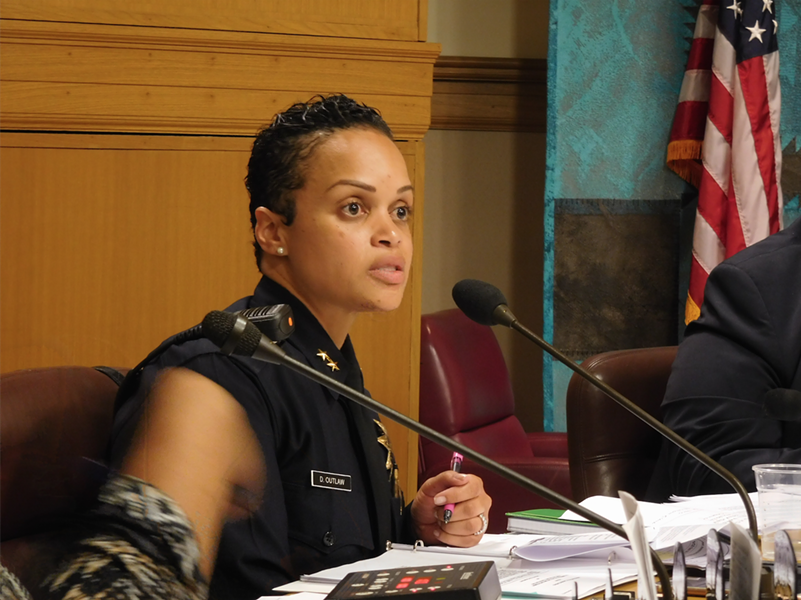 Deputy Chief Daniel Outlaw said the task forces with federal agencies are crucial to solving major crimes in Oakland.