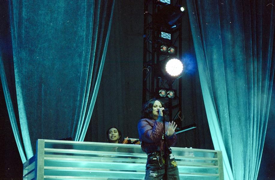 Kehlani at the Bill Graham Civic Auditorium in June, 2017. - OLIVIA KRAUSE