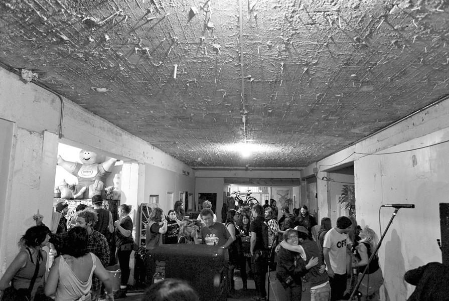 Gigs in unconventional venues have been difficult to acquire permits for. - PHOTO BY STEPHEN LOEWINSOHN