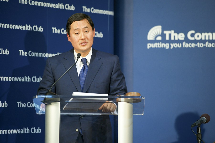 Yoo is to speak Oct. 2 at the Commonwealth Club. - PHOTO BY ED RITGER/COMMONWEALTH CLUB/CC