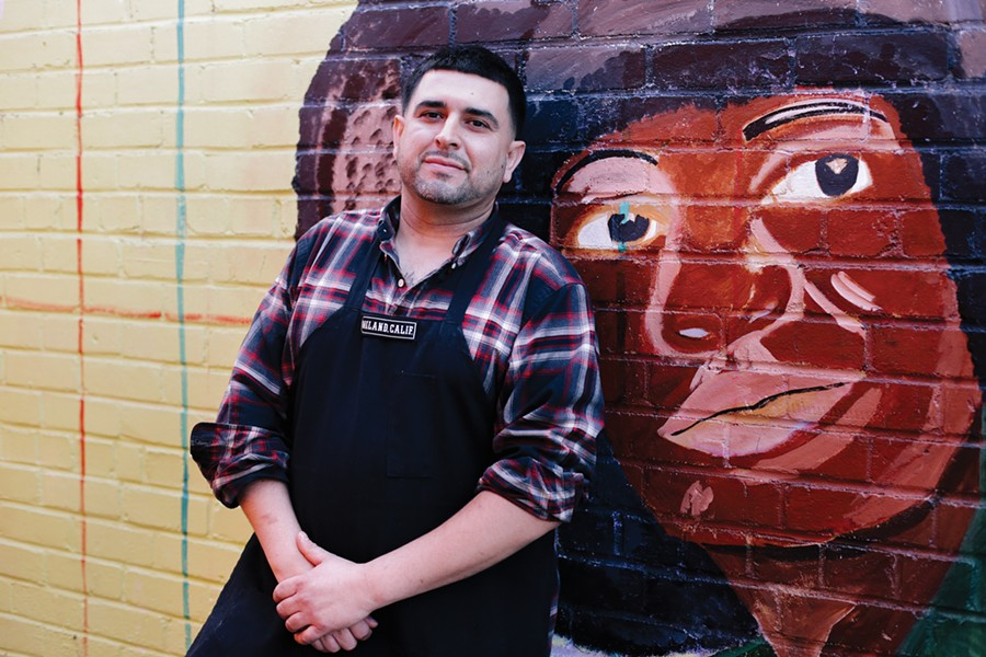 Nolberto Martinez Jr. recently took over his aunt's restaurant. - PHOTO BY MELATI CITRAWIREJA