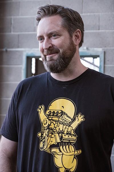 Second Line Vinyl founder and CEO Zane Howard. - PHOTO BY DARRYL BARNES