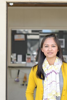 Thao Dang Weldy is worried about the ballpark's impact on small businesses.