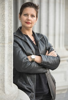 Carolina De Robertis is the author of three award-winning, internationally best-selling novels, and editor of the recent anthology Radical Hope: Letters of Love and Dissent in Dangerous Times. She lives in Oakland with her wife and two children, and teaches at San Francisco State University.