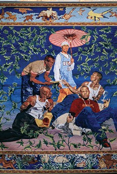 Kehinde Wiley's Gypsy Fortune-Teller is the most compelling piece in the exhibit.