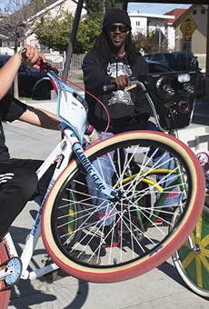 Scraper bikes are integral to life for East Oakland kids.