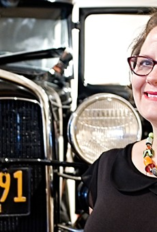Executive Director Melinda McCrary works to inspire civic pride.
