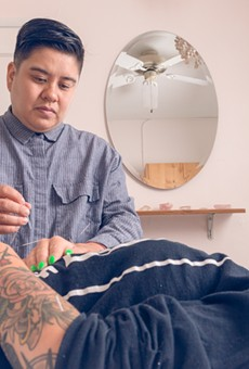 Paolo Flores Chico, a trans acupuncturist in Oakland, organizes acupuncture and sound healing events specifically for queer and trans people of color.