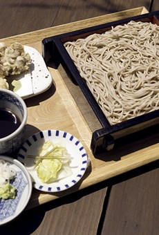 Soba Ichi is one of few restaurants in the country to make soba noodles completely from scratch.
