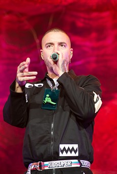 J Balvin at Oracle Arena. (Scroll down for a slideshow.)