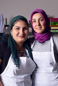 Farida Gvaramadze and Hatice Yildiz of Simurgh Bakery.