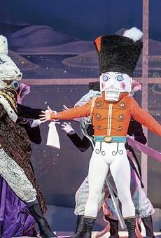 Dancers: Seyong Kim as The Nutcracker.